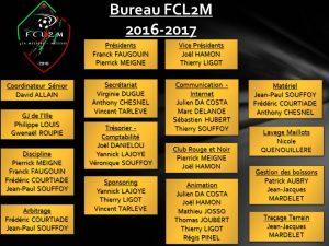 Bureau FCL2M 2016-2017