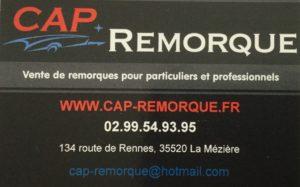 Cap remorque