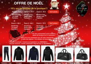 Affiche Offre de Noël